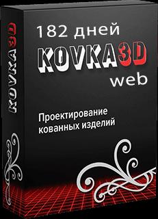 Коробка программы kovka3d web 182 дня